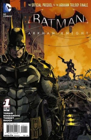 BATMAN ARKHAM KNIGHT (2015) #1-12