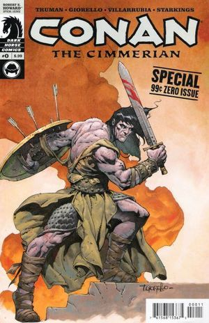 CONAN THE CIMMERIAN (2008) #0