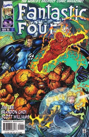FANTASTIC FOUR (1996 2ND SERIES) #1-13