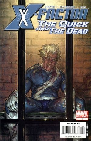 X-FACTOR QUICK AND DEAD (2008) #1