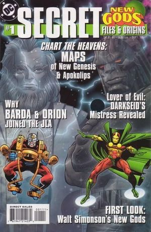 NEW GODS SECRET FILES (1998) #1