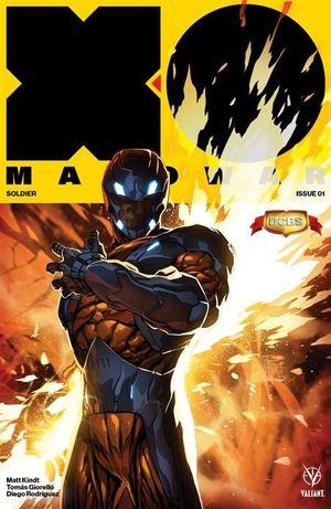 X-O MANOWAR (2017) #1 DCBS