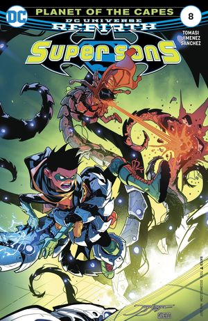 SUPER SONS (2017 DC) #8
