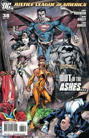 JUSTICE LEAGUE OF AMERICA (2006 2ND SERIES) #38