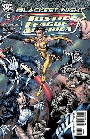 JUSTICE LEAGUE OF AMERICA (2006 2ND SERIES) #40