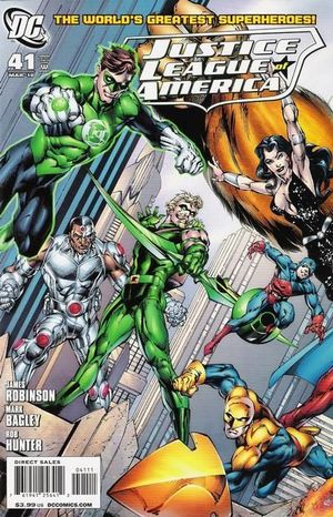 JUSTICE LEAGUE OF AMERICA (2006 2ND SERIES) #41