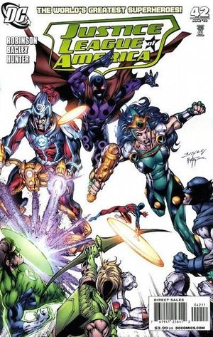 JUSTICE LEAGUE OF AMERICA (2006 2ND SERIES) #42