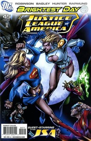 JUSTICE LEAGUE OF AMERICA (2006 2ND SERIES) #45