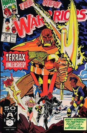 NEW WARRIORS (1990 1ST SERIES) #16