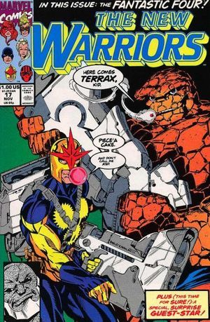 NEW WARRIORS (1990 1ST SERIES) #17