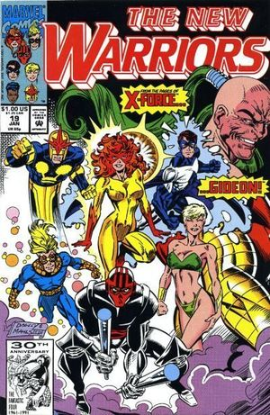 NEW WARRIORS (1990 1ST SERIES) #19