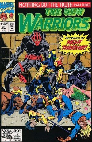 NEW WARRIORS (1990 1ST SERIES) #24