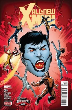 ALL NEW X-MEN (2015 2ND SERIES) #9