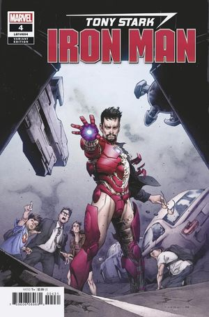 TONY STARK IRON MAN (2018) #4 JOME