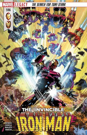INVINCIBLE IRON MAN (2017 4TH SERIES) #596