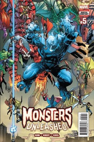 MONSTERS UNLEASHED (2017 1ST SERIES)