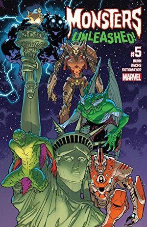 MONSTERS UNLEASHED (2017 2ND SERIES) #5