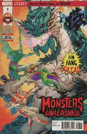 MONSTERS UNLEASHED (2017 2ND SERIES) #8