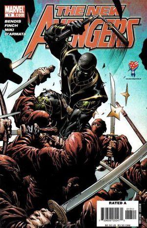 NEW AVENGERS (2005 1ST SERIES) #13