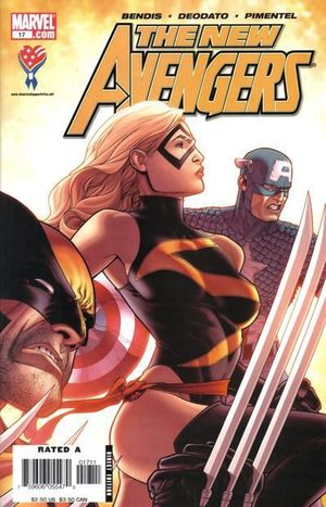 NEW AVENGERS (2005 1ST SERIES) #17