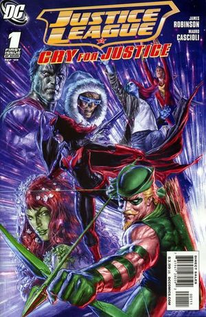JUSTICE LEAGUE CRY FOR JUSTICE (2009) #1-7