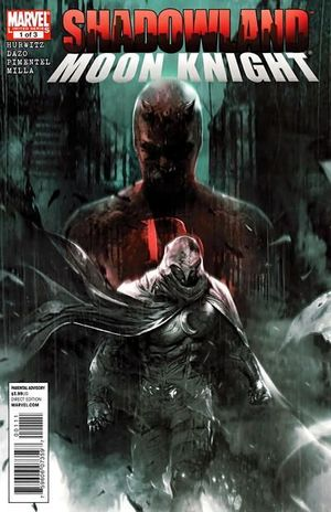 SHADOWLAND MOON KNIGHT (2010) #1
