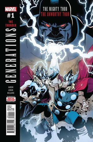 GENERATIONS UNWORTHY THOR AND MIGHTY THOR (2017) #1