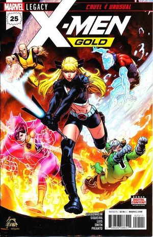 X-MEN GOLD (2017) #25