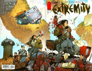 EXTREMITY (2017) #1 GOLD