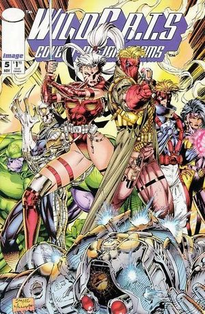 WILDCATS COVERT ACTION TEAMS (1992) #5