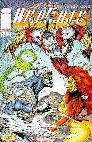 WILDCATS COVERT ACTION TEAMS (1992) #6