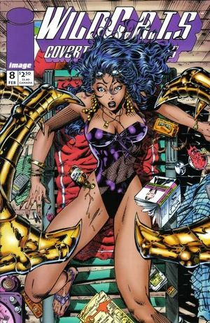 WILDCATS COVERT ACTION TEAMS (1992) #8