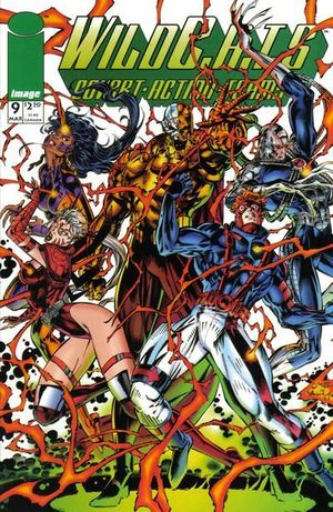 WILDCATS COVERT ACTION TEAMS (1992) #9