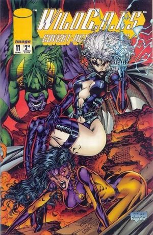 WILDCATS COVERT ACTION TEAMS (1992) #11