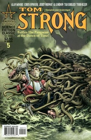 TOM STRONG (1999) #5