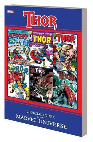THOR OFFICIAL INDEX TO THE MARVEL UNIVERSE TPB (20 #1