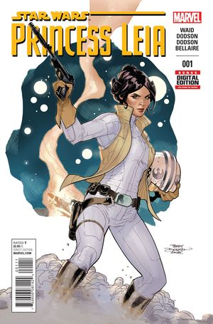 STAR WARS PRINCESS LEIA (2015) #1