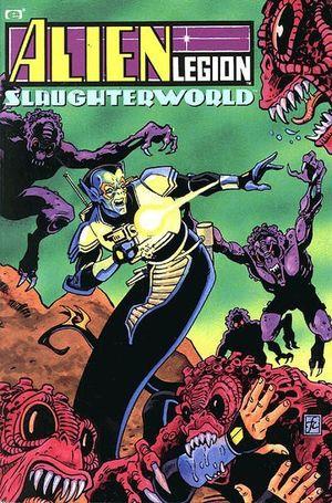 ALIEN LEGION SLAUGHTERWORLD TPB (1991) #1