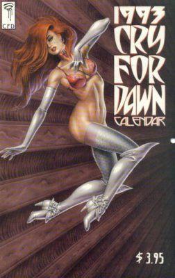 CRY FOR DAWN CALENDAR #1993 #1