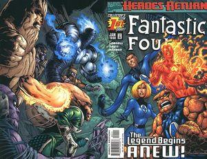 FANTASTIC FOUR (1998 3RD SERIES) #1