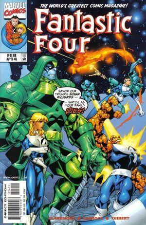 FANTASTIC FOUR (1998 3RD SERIES) #14