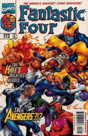 FANTASTIC FOUR (1998 3RD SERIES) #16