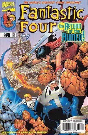 FANTASTIC FOUR (1998 3RD SERIES) #20