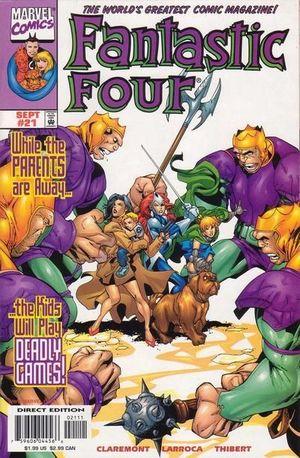 FANTASTIC FOUR (1998 3RD SERIES) #21