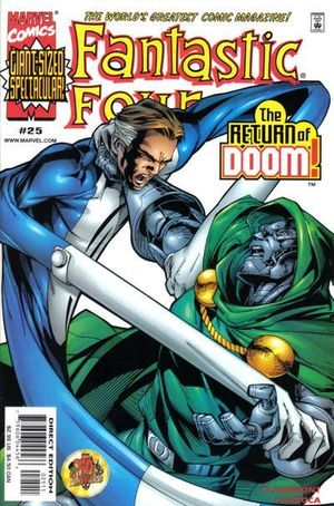FANTASTIC FOUR (1998 3RD SERIES) #25