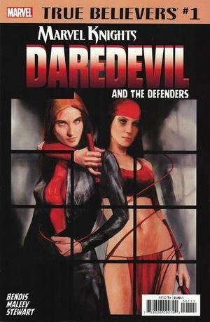 TRUE BELIEVERS DAREDEVIL AND THE DEFENDERS (2018) #1