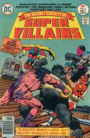 SECRET SOCIETY OF SUPER VILLAINS (1976) #4