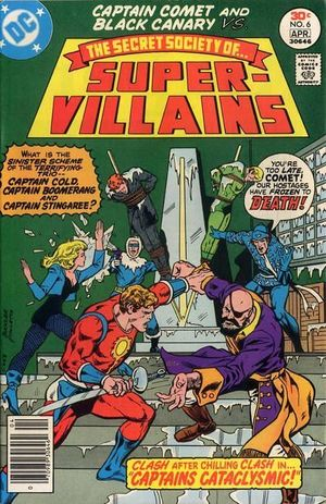 SECRET SOCIETY OF SUPER VILLAINS (1976) #6