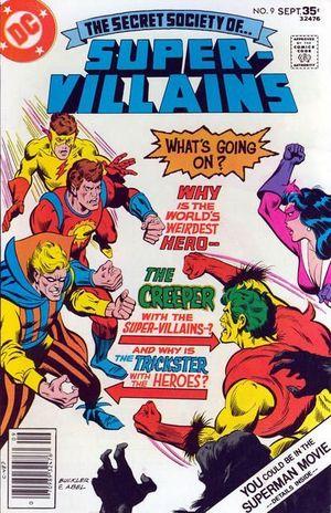 SECRET SOCIETY OF SUPER VILLAINS (1976) #9