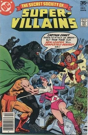 SECRET SOCIETY OF SUPER VILLAINS (1976) #11